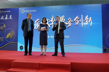 Stolle opens new service centre in China