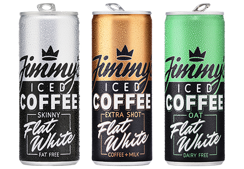 Ball Corporation and Jimmy's Iced Coffee launch new Flat White aluminium cans